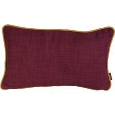 Collection Hellébore  -  coussin wine