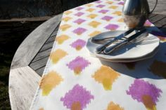 Collection ETE - Chemin de table Sambu rose