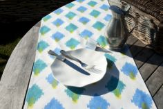 Collection ETE - Chemin de table Sambu bleu