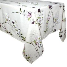 Collection ETE - Nappe Elégance blanc