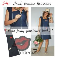 Look robe écussons