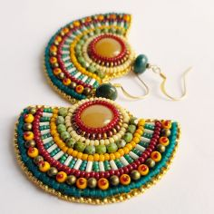 Boucles d'oreilles Scatterlings of Africa