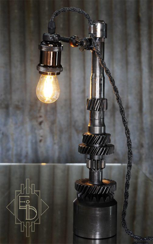 lampe mecanique industriel. Black Bedroom Furniture Sets. Home Design Ideas