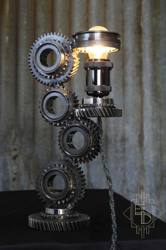 lampe afeno m canique industriel. Black Bedroom Furniture Sets. Home Design Ideas