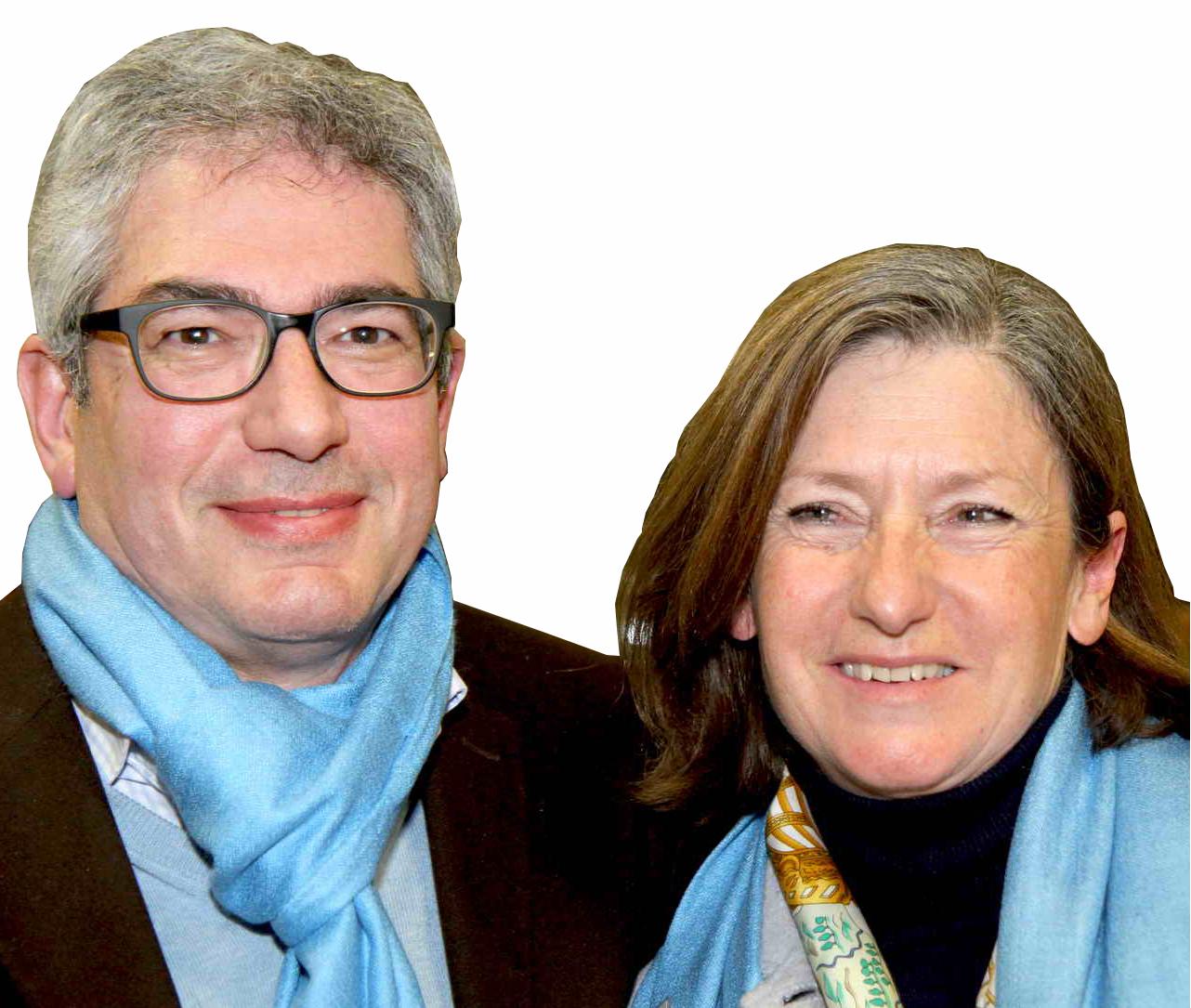 Martine et Alain Daltier, repreneurs de la marque Amarelle